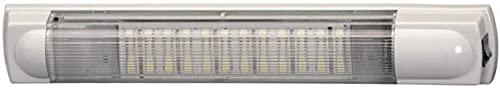 HELLA 2JA 007 373-161 Éclairage intérieur - LED - 12/24V - 7,0W - LED - Montage en saillie - Couleur LED: blanc