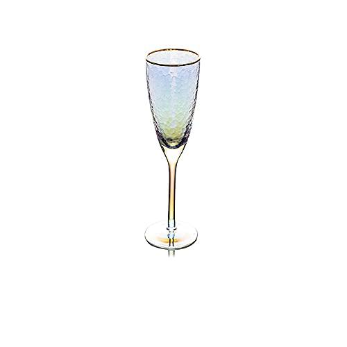Guoz Copas de Vino Multicolor,Regalos de Blackjack o Disfrutar en casa,Fiesta de Aniversario de Bodas Navidad,Copas de Vino