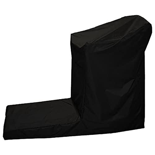 Fablcrew Housse de Protection pour Tapis Roulant,Housse de Protection pour Tapis de Course Anti-poussière Anti-UV Imperméable Couverture en Tissu Oxford pour Tapis Roulant 165x76x140CM