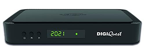Digiquest Decoder 4K Tivùsat + Terrestre HbbTV Q60, Nero