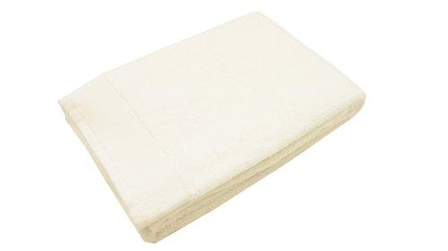 Blanc des Vosges Eponge unie Carre de Toilette Coton Blanc 30x30 cm
