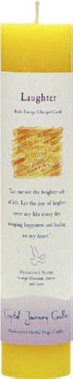 ヘビーエトナ山流暢魔法のヒーリングキャンドル ラフター(笑い)