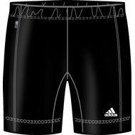 Adidas broek loopbroek fitness dames pant/tight. Kleur: Zwart