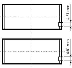 Tige de piston Roulement KS 77 844 600