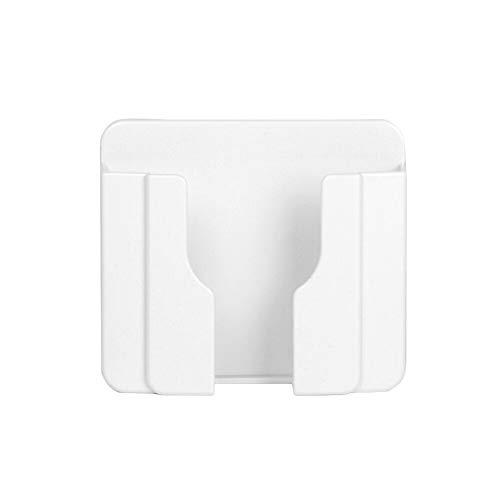 Sweet48 Handy-Ladehalterung, Universal-Wandhalterung, Handy-Ladegerät, Buchse, Klebesteckdose, praktische Klebehalterung, Handy-Ladehalterung, Halterungen, weiß, Free Size