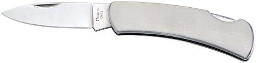 Semptec Urban Survival Technology Klappmesser groß: Edelstahl-Taschenmesser groß (Superleichtes Edelstahl-Messer)