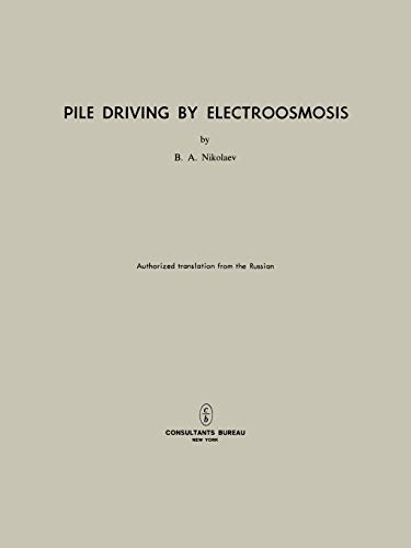 Pile Driving by Electroosmosis