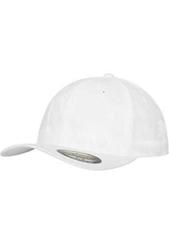Urban Classics Flexfit Cap Jacquard Camo, Color:white;Größe:S/M