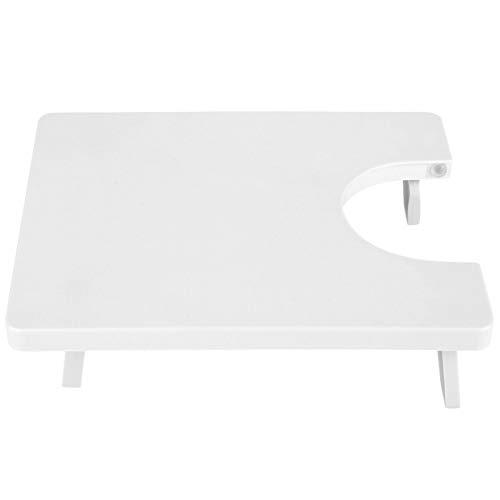 WOUPY Mesa de extensión, Tablero de máquina de Coser con diseño de Patas Plegables, Mano de Obra Exquisita portátil Flexible para Manualidades Bolsas de Almuerzo Delantales de Costura para el