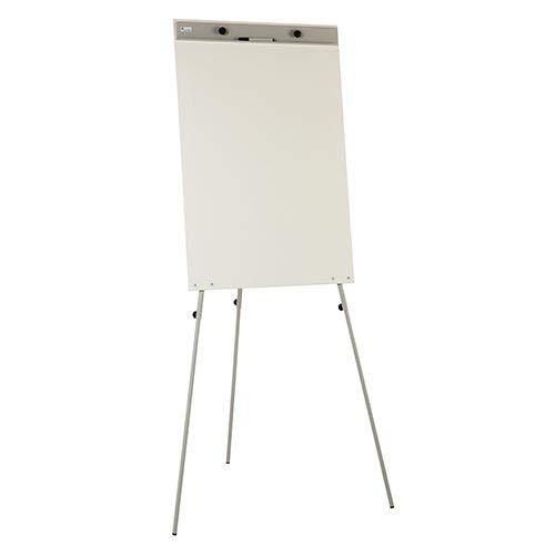 Pizarra blanca de caballete estratificada Faibo 67x100cm
