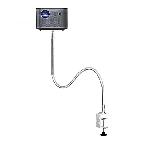 Soporte Proyector Soporte de montaje del proyector Portada de cuello de cuello de copa de copa de montaje en ángulo de montaje ajustable proyectores de soporte Longitud de 21 pulgadas Ajustable 360 