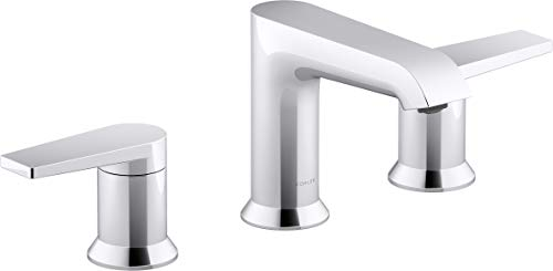 Bathroom Faucet by KOHLER, Bathroom Sink Faucet, Hint Collection, Polished Chrome, K-97093-4-CP