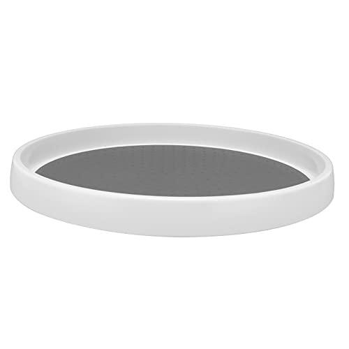 Bandeja redonda, colocación de condimentos práctica de una sola capa para cocina
