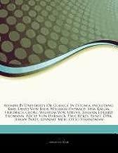 Articles On Alumni By University Or College In Estonia, including: Karl Ernst Von Baer, Wilhelm Ostwald, Siim Kallas, Friedrich Georg Wilhelm Von Harnack, Paul Keres, Ernst Ã-pik, Juhan Parts