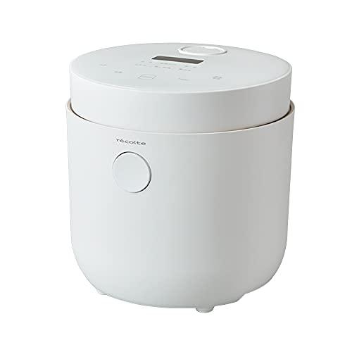 レコルト ヘルシーライスクッカー RHR-1(W) ホワイト recolte Healthy Rice Cooker