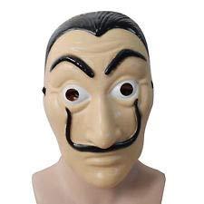 """Mi rincon - Maschera di Salvador Dalí, la """"Casa di carta"""""""