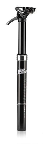 XLC All MTN Tija telescópica SP-T05 Ø 31,6mm, 402mm, Negro, 50-120kg