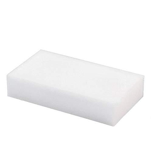 ARLT 20 PCS Blanco Multifuncional Melamina Esponja para la Cocina Herramientas de Limpieza de baño (Color : 20 Pcs)