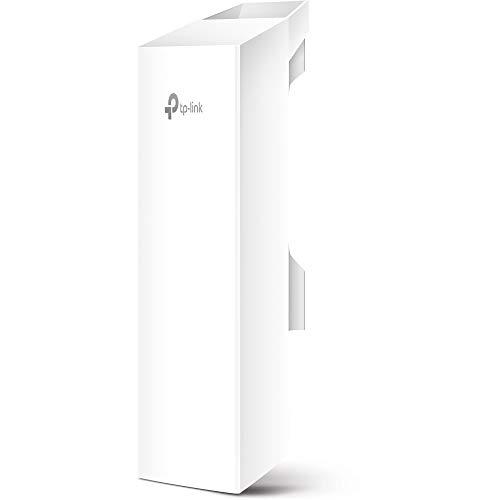 TP-LINK CPE510 - Punto de acceso inalámbrico/CPE de Exterior a 5.0 GHz 300 Mbps 13 dBi (2x2 antena MIMO, 15 KM, Adaptador PoE Pasivo, tecnología Pharos MAXtream TDMA)