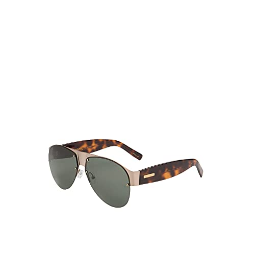 MO Gafas De Sol Polarizadas X Oliva Brooklyn B De Hombre Y Mujer. Gafas De Aviador De Color Marrón Y Carey