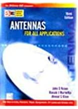 Antennas For All Applications [Paperback] [Jan 01, 2006] John D. Kraus; Ronald J. Marhefka and Ahmad S. Kahn