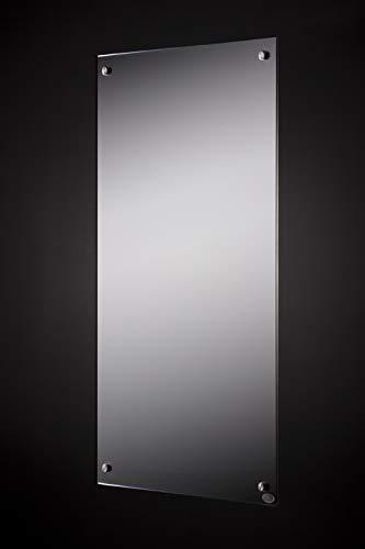 FERN INFRAROT SPIEGELHEIZUNG (neueste Technologie) 600W Spiegel Heizung mit höchsten Sicherheitsstandards, 50 Jahre/100.000Std Lebensdauer und 99% Heizübertragung (Infrarotheizung mit Spiegel)