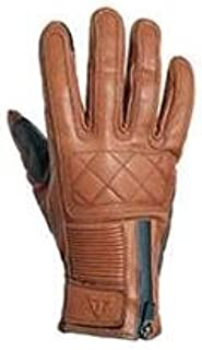 TRIUMPH Raven GTX Brown Vintage Leather Motorcycle Glove XL