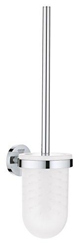 GROHE Essentials | Badaccessoire - Toilettenbürstengarnitur | verdeckte Befestigung | chrom | 40374001