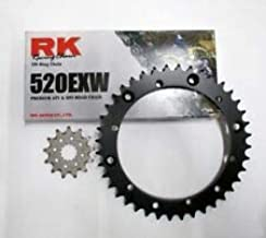 RK Chain and JT Sprockets Chain and Sprocket Kit Fits: Yamaha Banshee 350 1989-2006