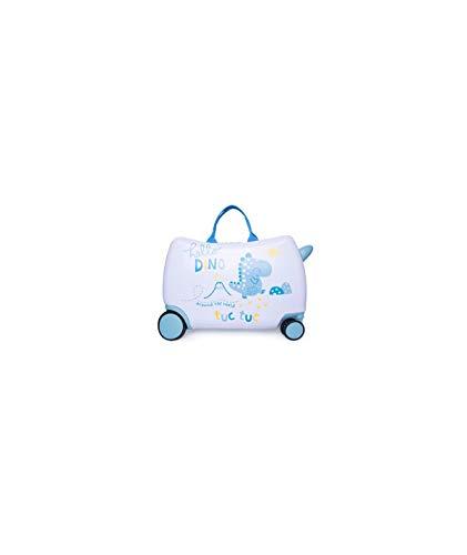 Tuc Tuc 1205170101 - Maleta Trolley De Viaje, Color Azul