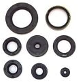 Engine Oil Seal Kit - Compatible with Honda Twins CB350 CL350 1968-1973 SL350 1969-1970 - 8 Seals
