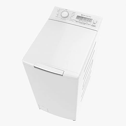 EAS ELECTRIC SMART TECHNOLOGY | EMWT652A1 | Lavadora carga superior | Color Blanco | Capacidad 6.5 kg | Centrifugado hasta 1200 rpm | Clase energética D/A+++ | Bloqueo infantil | Función Prelavado