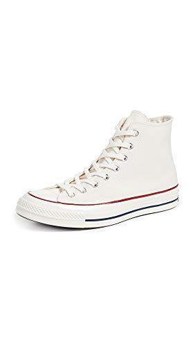 Converse Unisex-Erwachsene Taylor Chuck 70 Hi Sneakers, Mehrfarbig (Parchment/Garnet/Egret 247), 43 EU