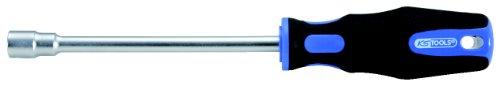 KS Tools 159.1208 Destornillador de vaso, cromado satinado mate (tamaño: 10 mm), 10mm