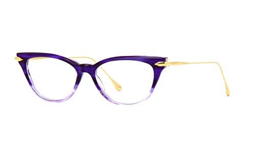 Eyeglasses Dita VIDA DRX 3030 C-PUR-GLD Purple Crystal Swirl Fade18K Gold