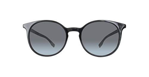 BOSS Orange BO 0288/S 9O 807 Gafas de sol, Negro (BLACK/DARK GREY SF), 51 para Mujer