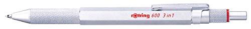 ロットリングマルチペン6003in12121117シルバー正規輸入品