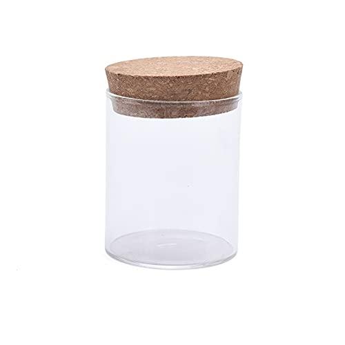 MZAW Botellas Botellas y Cajas Botella de Almacenamiento de Alimentos de Jarra sellada de Frasco de Vidrio con Tapa de Corcho Caja de Almacenamiento de refrigerador de Cocina p (Color : A1)