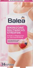Balea Kaltwachsstreifen Bikinizone, 1 x 16 St