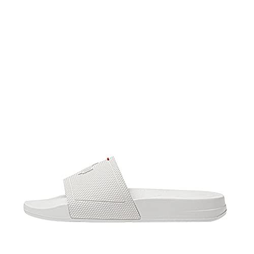 Fitflop Women's Flip-Flop, White, 6