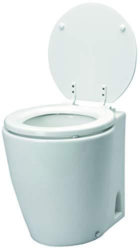 Unbekannt Allpa Bootstoilette Elektrisch Toilette Modell Laguna Standaard 12V / 19A Bord WC Bordtoilette