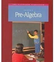 Fearon's Pre Algebra