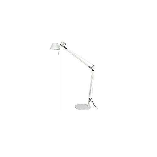 Lampen Artemide Tolomeo Tischlampe - weiß, Halo