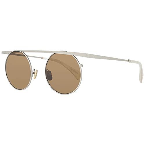Yohji Yamamoto 7038 403 Nuevas Gafas De Sol Unisex, color Dorado, talla 00