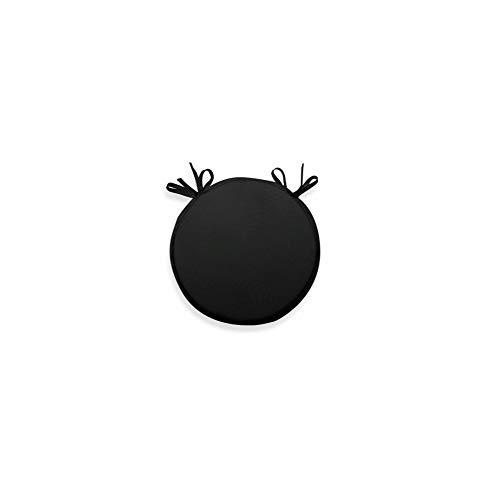Soleil d'Ocre 009460 Bistrot Dessus de Chaise Gobelin Polyester Noir 250 x 40 x 3 cm
