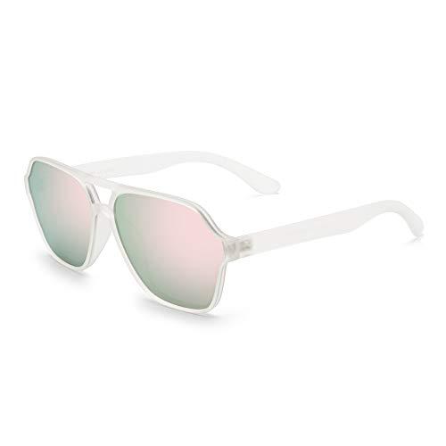 Glindar gepolariseerde zonnebril voor dames en heren, vierkante vintage-bril