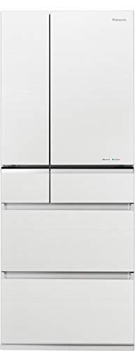 パナソニック 冷蔵庫 6ドア 470L パーシャル搭載 マチュアホワイト NR-F476XPV-W