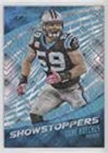 Luke Kuechly #17/100 (Football Card) 2016 Panini Prime Signatures - Showstoppers - Cosmic #SS-LK