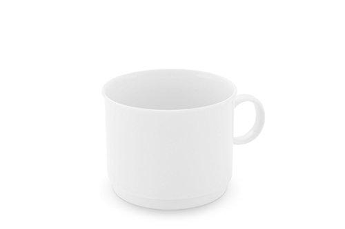 Friesland Porzellan Kaffeetasse stapelbar 0,19l Jeverland Weiß