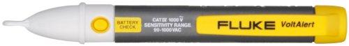 Fluke 2AC/90-1000V5PK VoltAlert Voltage Detector with Straight Tip, 90V to 1000V AC Voltage (Pack of 5)